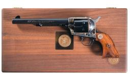Cased NRA Centennial  Colt Single Action Army Revovler