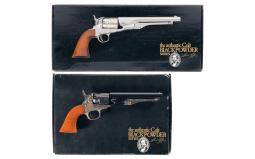 Two Colt Black Powder Series Percussion Revolvers with Boxes