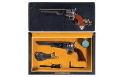 Two Colt Black Powder Series Percussion Revolvers