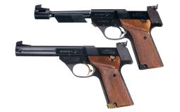 Two High Standard Semi-Automatic Target Pistols with Boxes
