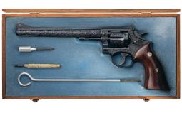 Factory Class A Engraved Smith & Wesson Model 48 Revolver
