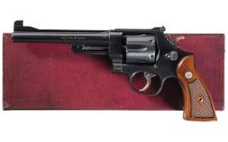 Smith & Wesson 1950  .45 Target Model Revolver with Box
