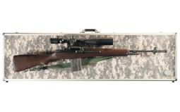 Springfield (Geneseo) M1A Rifle w/Scope, Magazines, Accessories