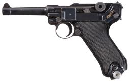 Mauser 41/byf Black Widow Luger Pistol