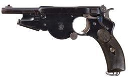 1896 Bergmann  Number 2 Pistol in 5 mm