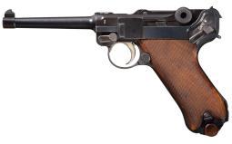 DWM 1923 American Eagle Luger Pistol