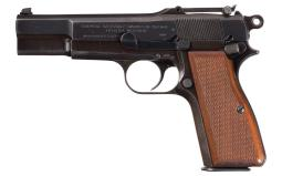 FN Hi Power Pistol, Nazi Occupation, Tangent Sights