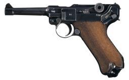 Mauser P08 Pistol 9 mm Luger