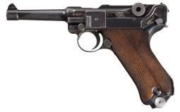 Mauser 1939/42 Luger Pistol