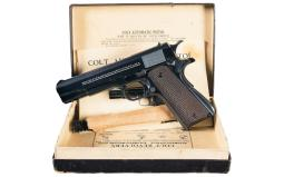 Colt National Match Pistol 45 ACP