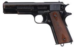 1916 Colt Government Model Pistol