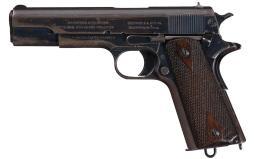 U.S. Colt 1911 Pistol, Manufactured in 1912
