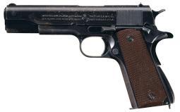 U.S. Navy Colt 1911A1 Pistol, 1939 Norfolk Shipped