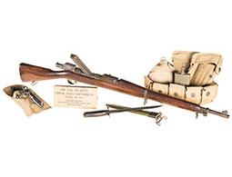 U.S. Springfield M1903 Mark I w/Pedersen Device and Equipment