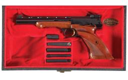 Cased Browning Medalist Semi-Automatic Pistol