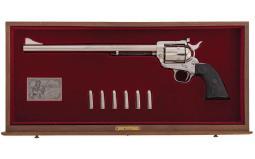 Cased Colt Ned Buntline Commemorative New Frontier Revolver