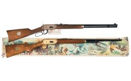 Two Boxed Winchester Commemorative Lever Action Long Guns