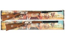Two Consecutively Serialized Winchester Model 94 Rifles
