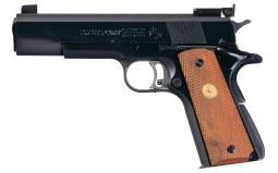 Colt National Match Pistol 38 special
