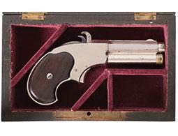 Cased Remington-Rider Magazine Pistol