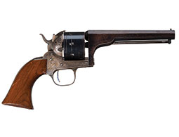 Engraved Moore's Patent Firearms Co. Single Action Revolver