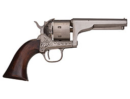 Engraved Moore's Patent Firearms Co. Single Action Belt Revolver