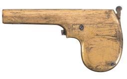 Unique Unknown Experimental Magazine Pistol