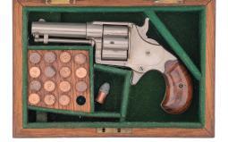 Early Production Cased Colt House Model Cloverleaf Revolver