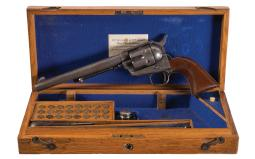 Inscribed Cased Colt London Single Action Army Revolver