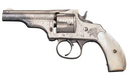 Factory Engraved Merwin Hulbert & Co Small Frame Revolver