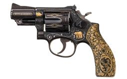 Elvis' Gifted Smith & Wesson Model 19-2 Revolver to Veep Agnew