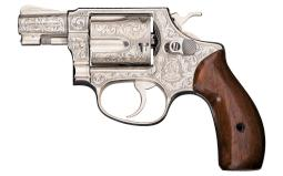 Master Walter T. Shannon Engraved Smith & Wesson Model 36