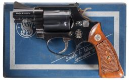 Smith & Wesson Model 36 Double Action Target Revolver with Box