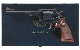 Smith & Wesson Pre-Model 29 44 Magnum Double Action Revolver