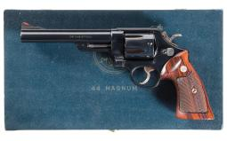 Inscribed Smith & Wesson Model 29 Double Action Revolver