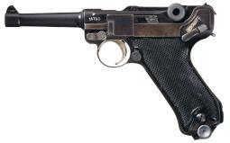 Kreighoff 1941 Luftwaffe Luger Rig w/2x Matching Magazines