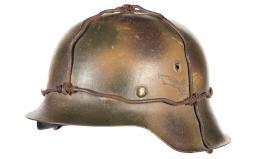 1942 Stahlhelm, in Luftwaffe/Normandy Style Camo