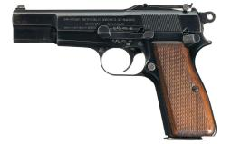 FN Pre-War Commercial Hi Power Pistol with Odin Int'l Stock