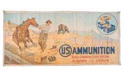 Desirable Cloth Advertising Banner for U.S. Ammunition