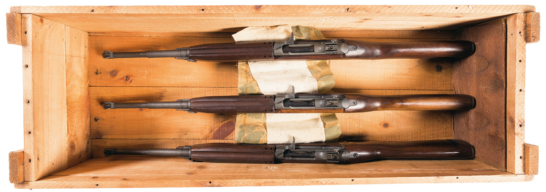 Cased Set Of 3 Winchester M1 Carbines