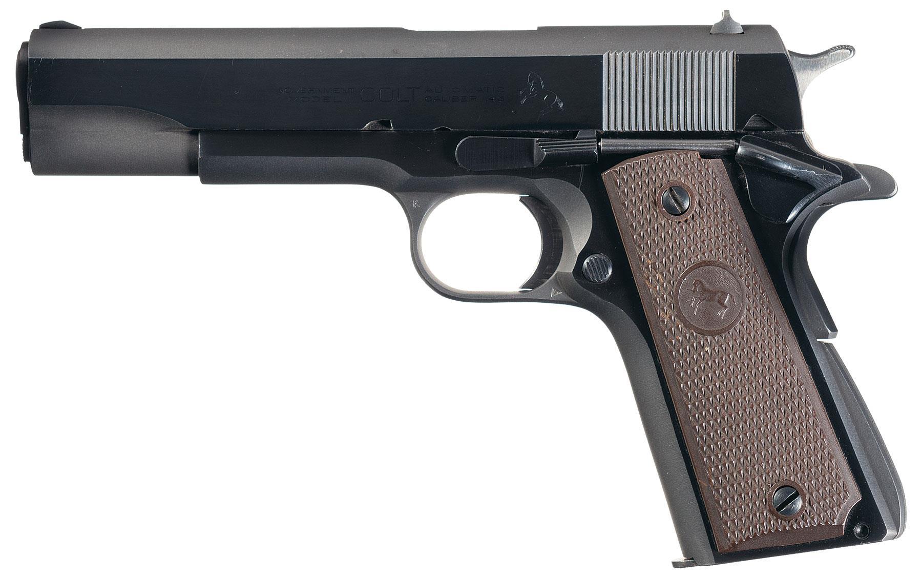 Colt Government Model Semi-Automatic Pistol-Pistol ...