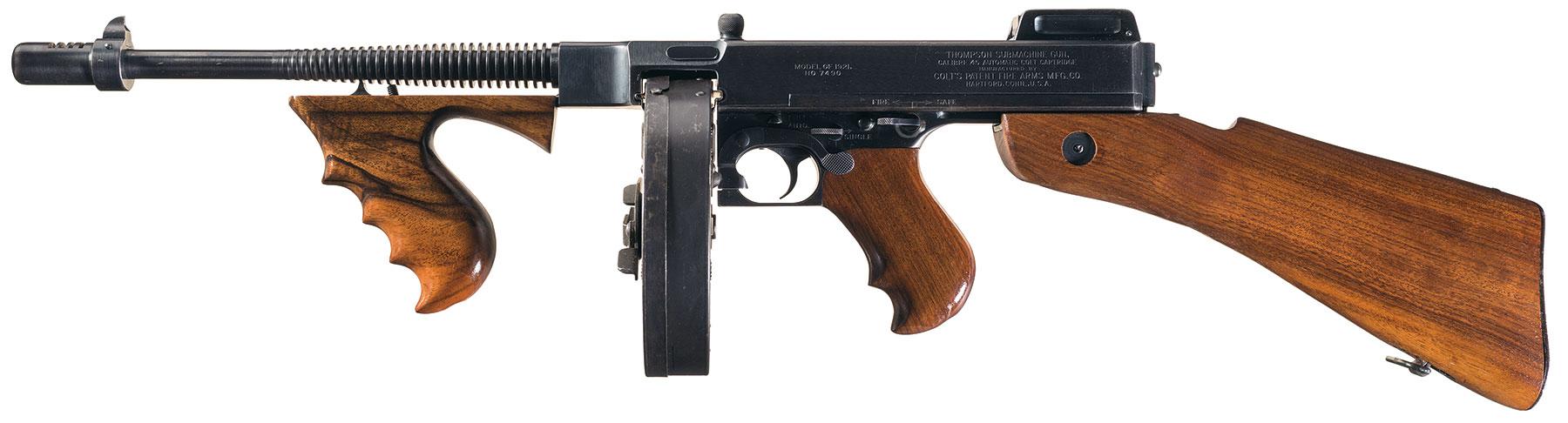 Colt 1921 Thompson Fully Transferrable Sub-Machine Gun