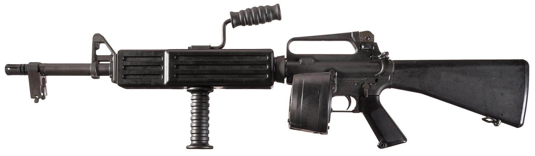 H R M16a1 Rifle Full Transferrable Class Iii Nfa Machine Gun
