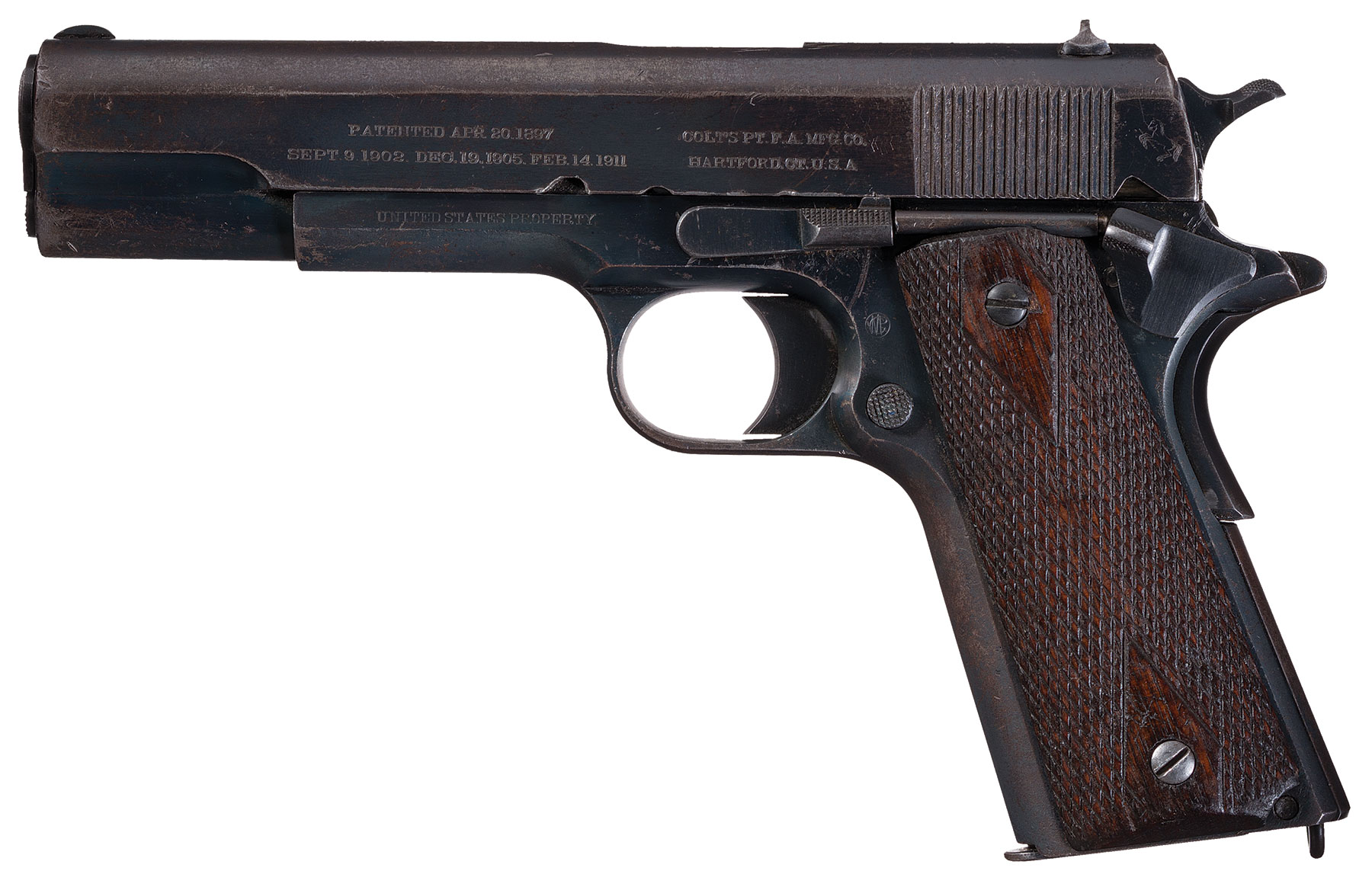 Very Ealry Colt - 1911 1st Year U S  Navy Contract Pistol