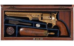 Colt Model 1851 Navy Revolver - London