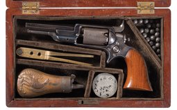 Cased Colt Model 1855 Root Model Percussion Revolver