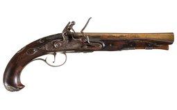 Brass Barreled Rappahannock Forge Flintlock Pistol