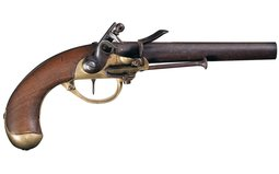 North & Cheney Model 1799 Flintlock Pistol