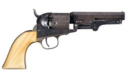 Colt Model 1849 Pocket Percussion Revolver with Script Markings