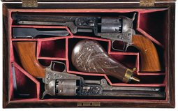 Colt Model 1851 Squareback Percussion Revolvers